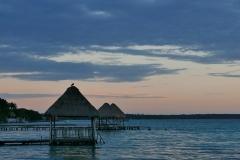 Bacalar o wschodzie słońca