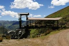 Pozostałości kopalni rtęci Santa Barbara