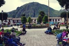 Huancavelica - Plaza de Armas