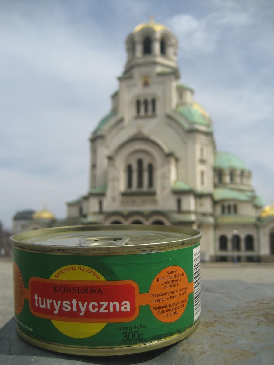 Konserwa i sobór św. Aleksandra Newskiego w Sofii