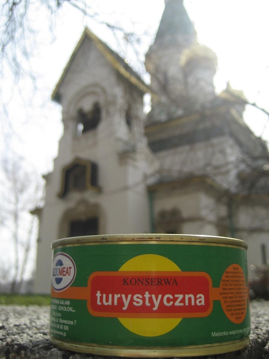 Konserwa i cerkiew św. Mikołaja w Sofii