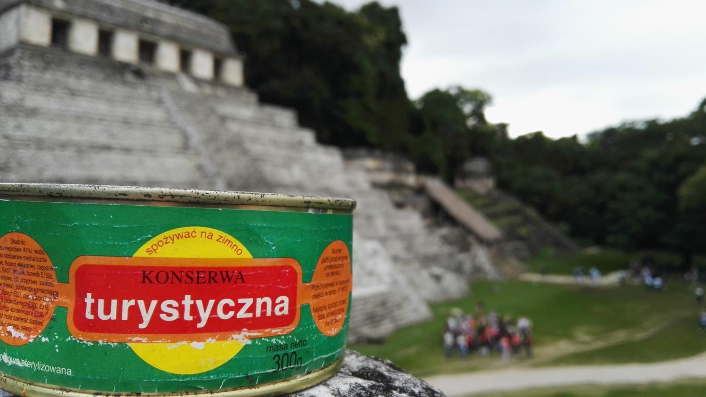 Konserwa w Palenque