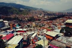 Medellin widziane z Komuny 13