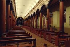 Katedra w Suchitoto w środku