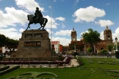 Ayacucho - pomnik Antonio Jose de Sucre