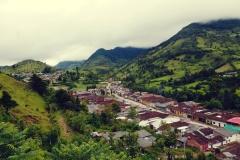 Położona wysoko w górach Silvia