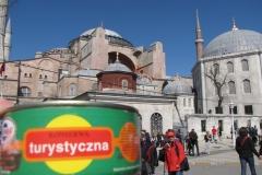 Konserwa i Hagia Sophia w Stambule