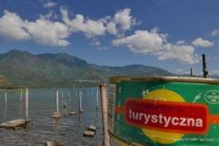 Konserwa nad jeziorem Atitlan