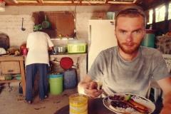 W kuchni naszych gospodarzy