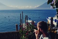 Jezioro Atitlan - Iguana Perdida