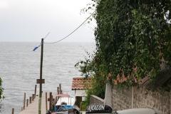 Postój tuk-tuków w Santa Cruz