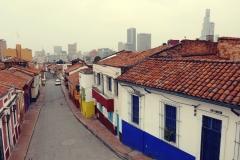 Bogota - widok na dzielnicę La Candelaria