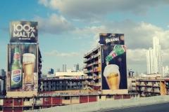 Reklama Panamy - narodowego piwa Panamy