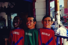 Najbardziej znani kostarykańscy piłkarze - w sensie to są lalki, a nie prawdziwi ludzie